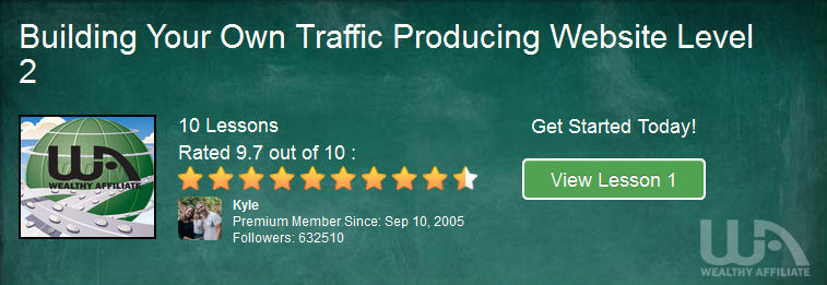 Level #2 Affiliate Marketing Training - Producing Traffic