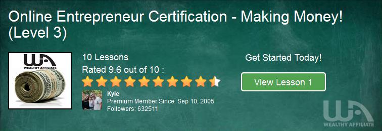 Level #3 Affiliate Marketing Training - Making Money