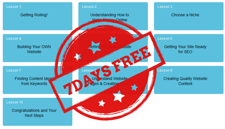 7 Day Free Marketing Course Trial
