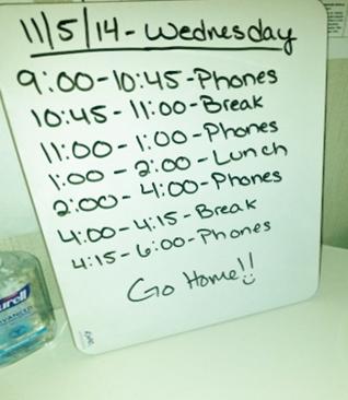 Job Schedule Change