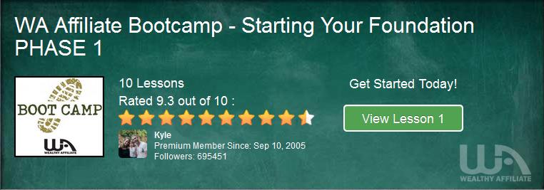WA Affiliate Marketing Bootcamp Level 1